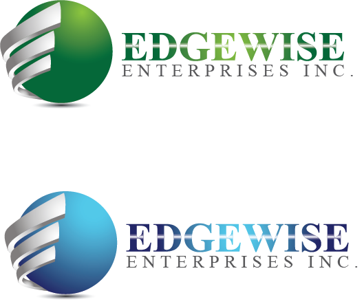 Logo Design by Private User - Entry No. 19 in the Logo Design Contest New Logo Design for Edgewise Enterprises Inc..
