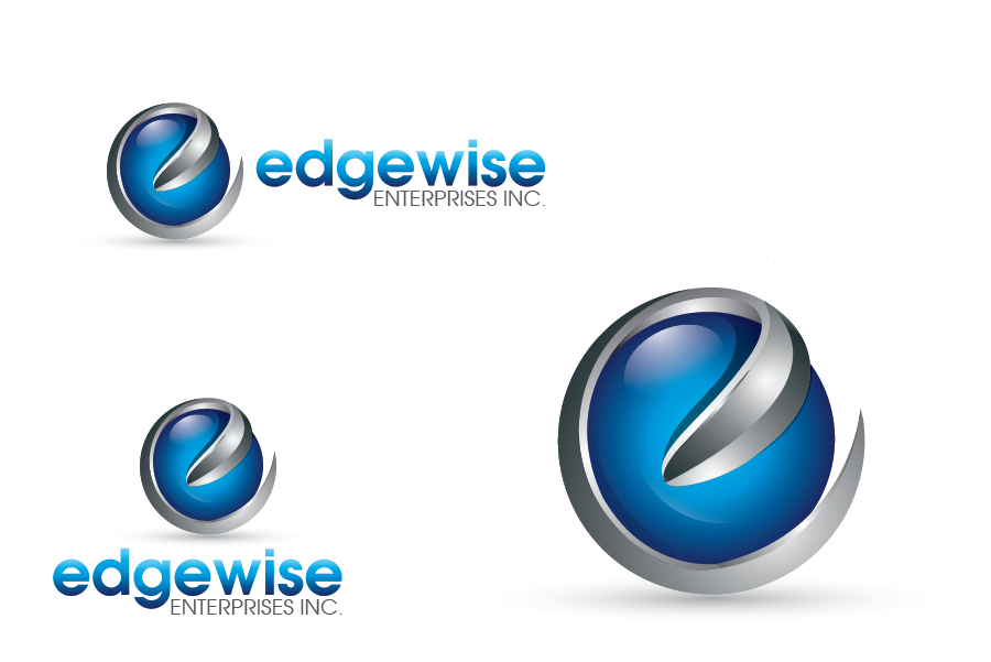 Logo Design by Private User - Entry No. 20 in the Logo Design Contest New Logo Design for Edgewise Enterprises Inc..