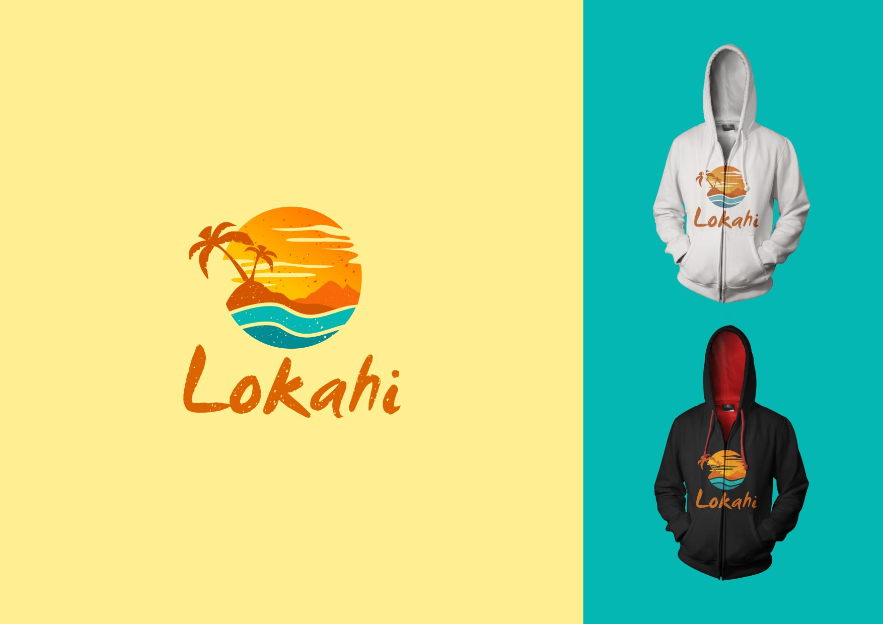 Logo Design by Osi Indra - Entry No. 56 in the Logo Design Contest  Epic Logo Design for LOKAHI designs.