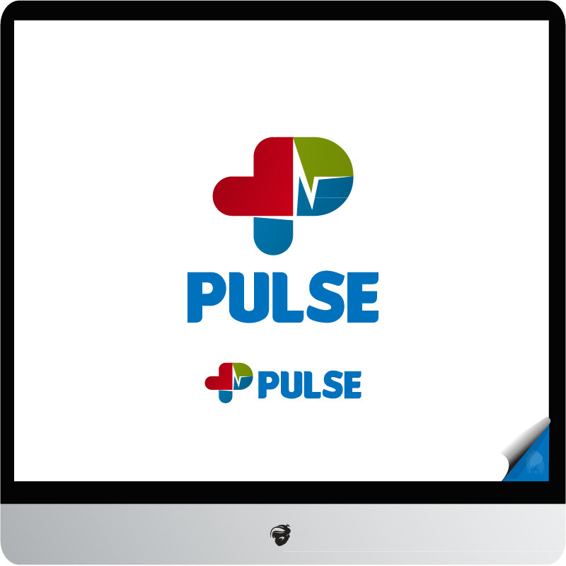 Logo Design by zesthar - Entry No. 4 in the Logo Design Contest Captivating Logo Design for Pulse.