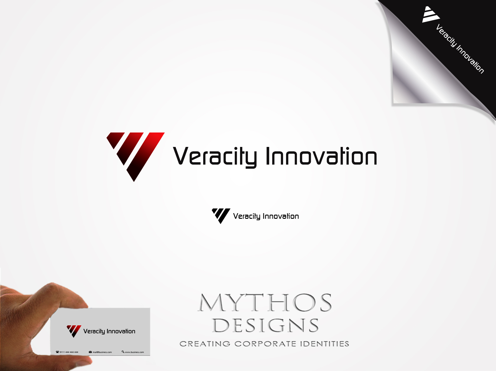 Logo Design by Mythos Designs - Entry No. 252 in the Logo Design Contest Creative Logo Design for Veracity Innovation, LLC.