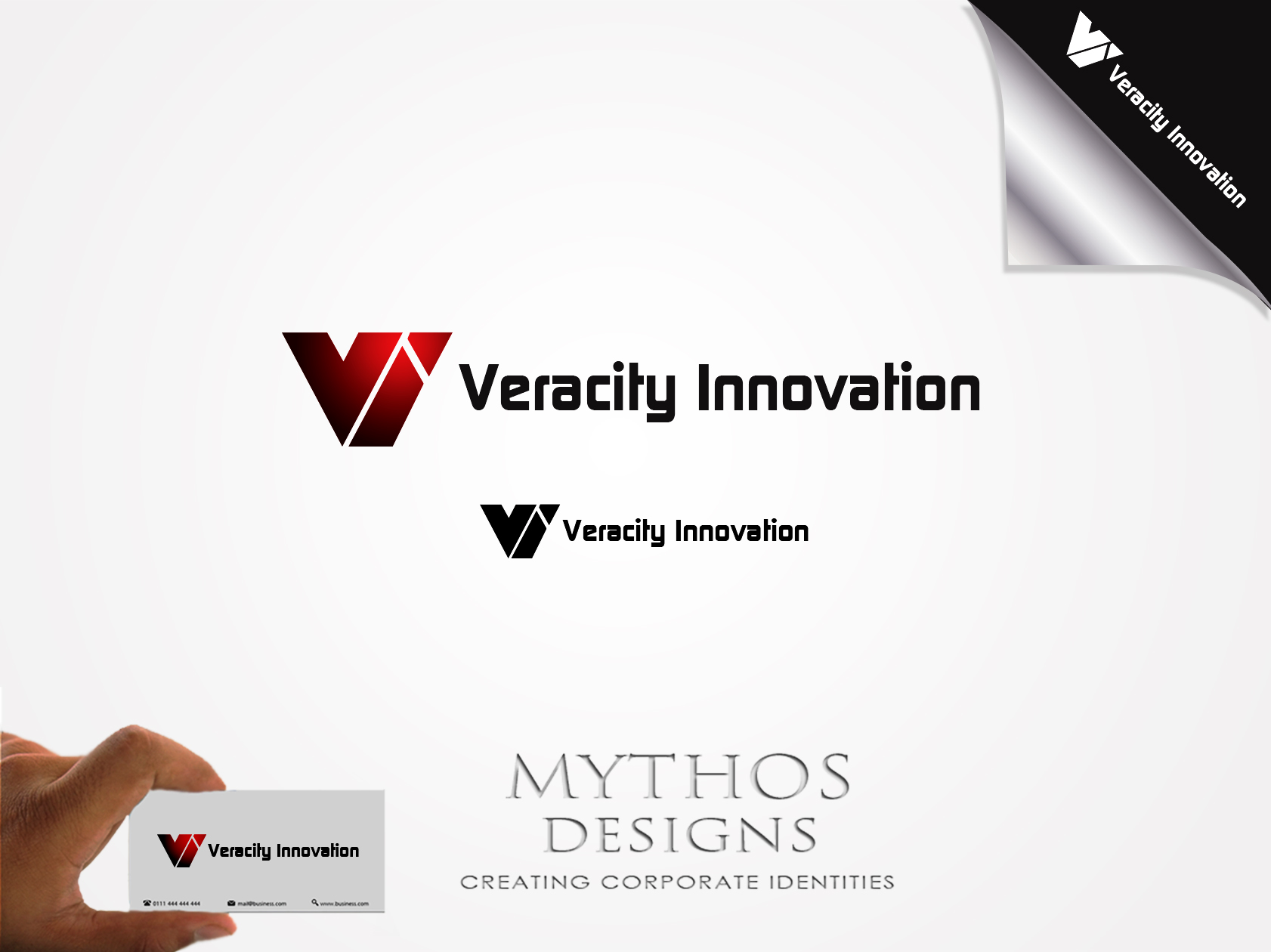 Logo Design by Mythos Designs - Entry No. 253 in the Logo Design Contest Creative Logo Design for Veracity Innovation, LLC.