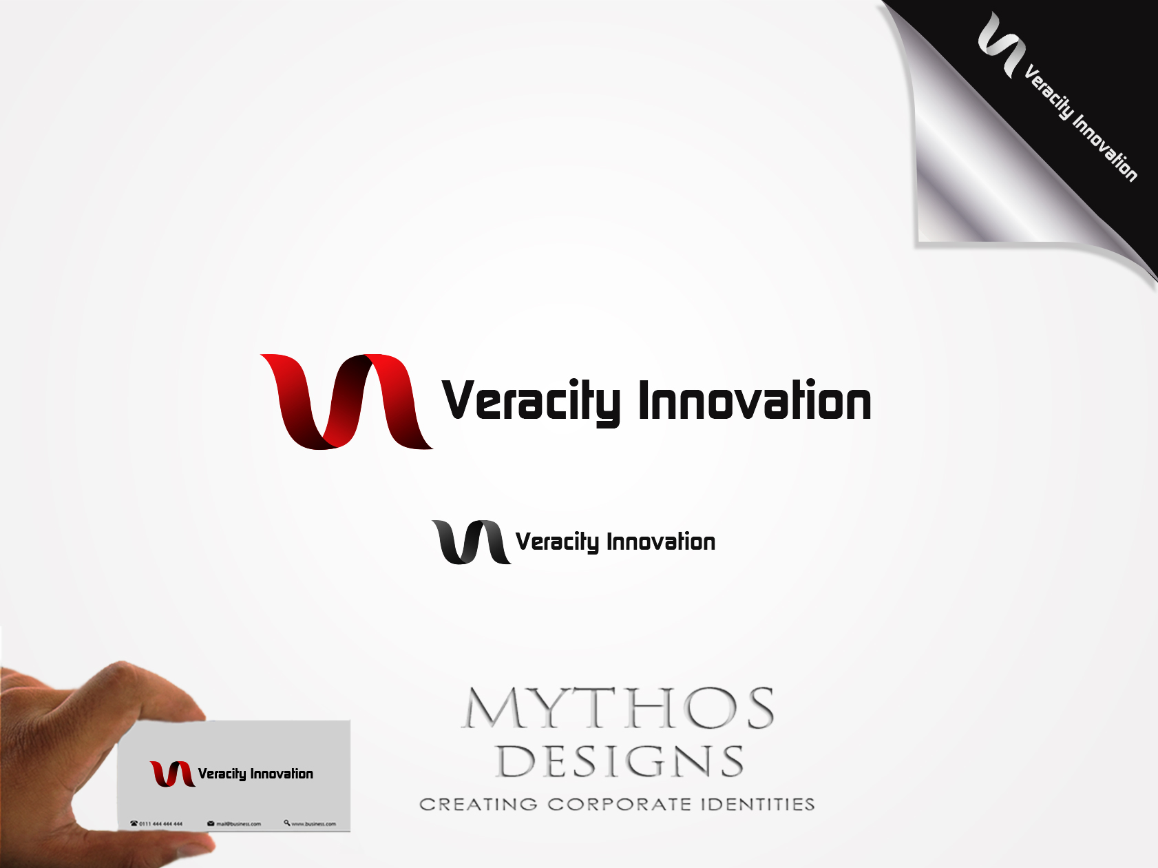 Logo Design by Mythos Designs - Entry No. 254 in the Logo Design Contest Creative Logo Design for Veracity Innovation, LLC.