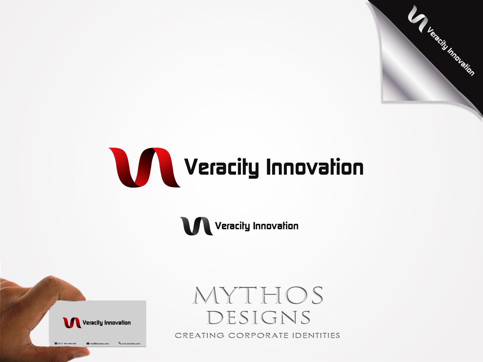 Logo Design by Mythos Designs - Entry No. 254 in the Logo Design Contest Creative Logo Design for Veracity Innovation, LLC.