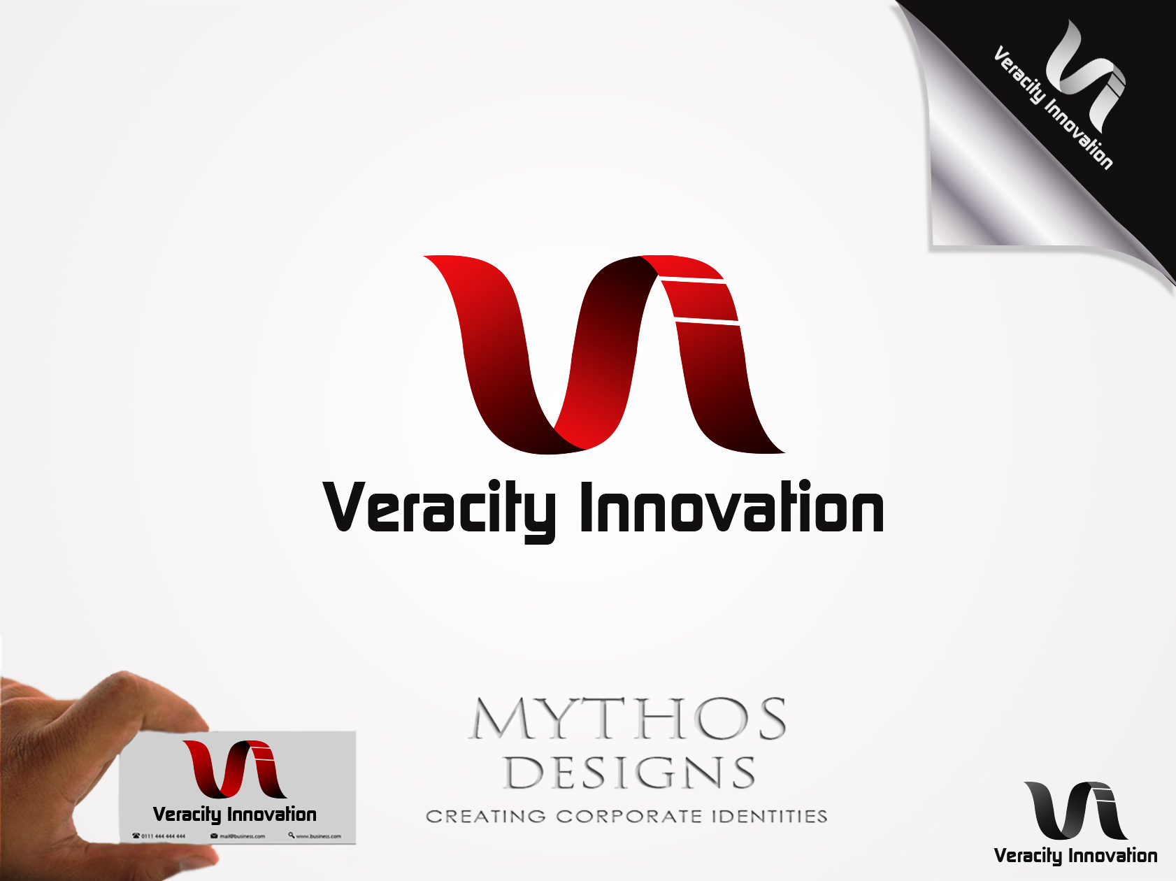 Logo Design by Mythos Designs - Entry No. 255 in the Logo Design Contest Creative Logo Design for Veracity Innovation, LLC.