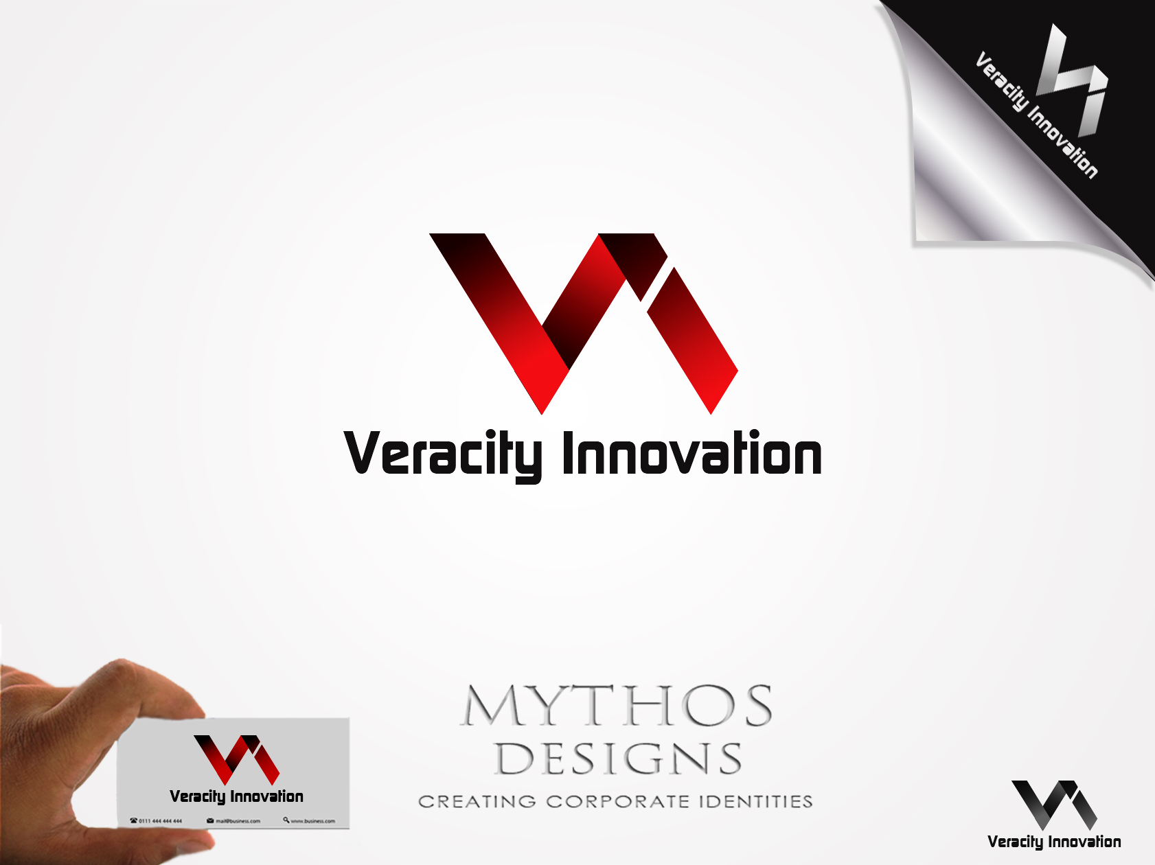 Logo Design by Mythos Designs - Entry No. 256 in the Logo Design Contest Creative Logo Design for Veracity Innovation, LLC.