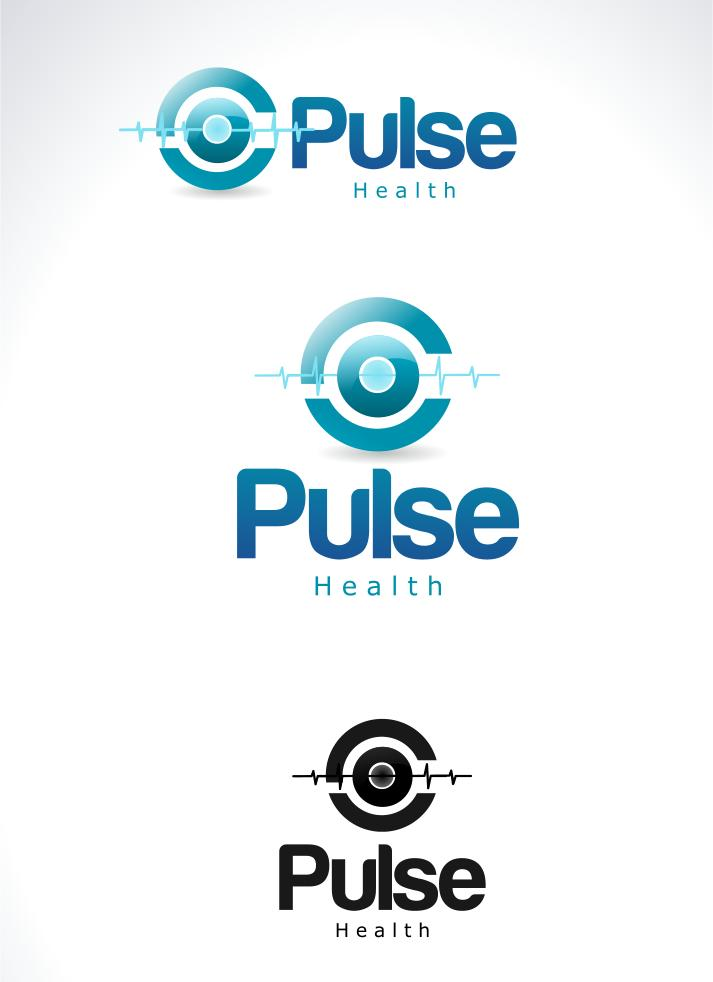 Logo Design by Private User - Entry No. 8 in the Logo Design Contest Captivating Logo Design for Pulse.