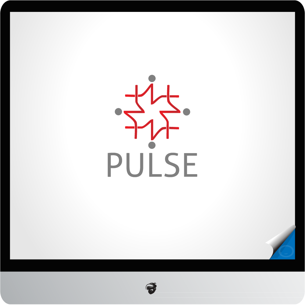 Logo Design by zesthar - Entry No. 9 in the Logo Design Contest Captivating Logo Design for Pulse.