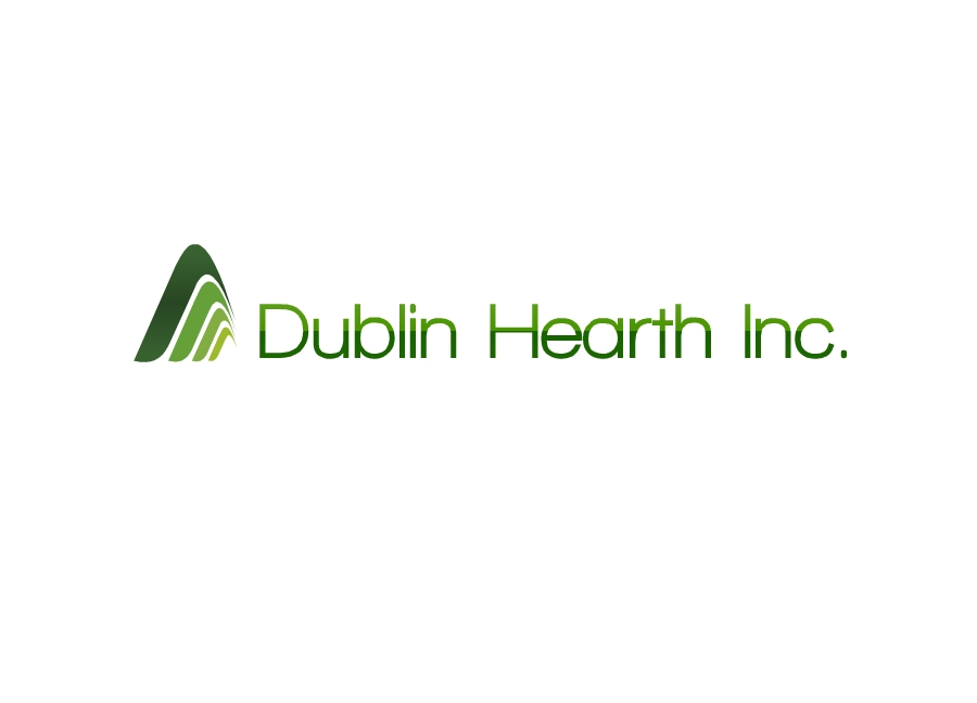 Logo Design by Tathastu Sharma - Entry No. 96 in the Logo Design Contest clean professional  Logo Design for Dublin Hearth Inc. with a splash of fun with letter head.