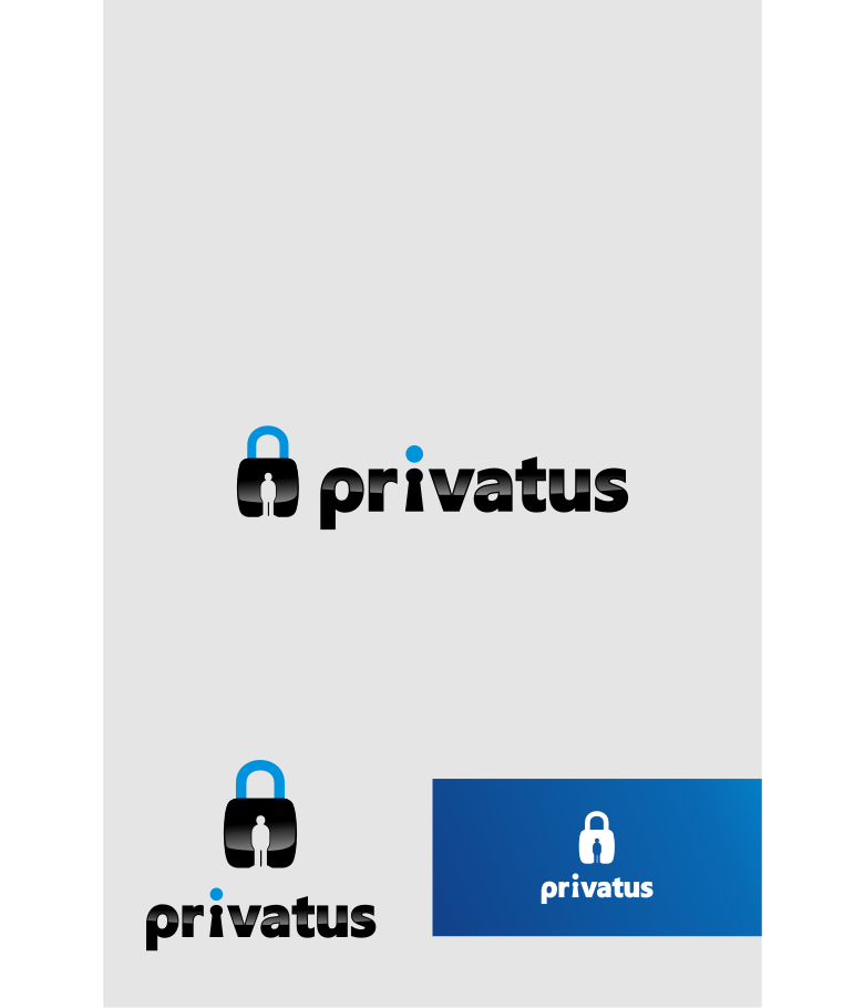 Logo Design by graphicleaf - Entry No. 40 in the Logo Design Contest New Logo Design for privatus.