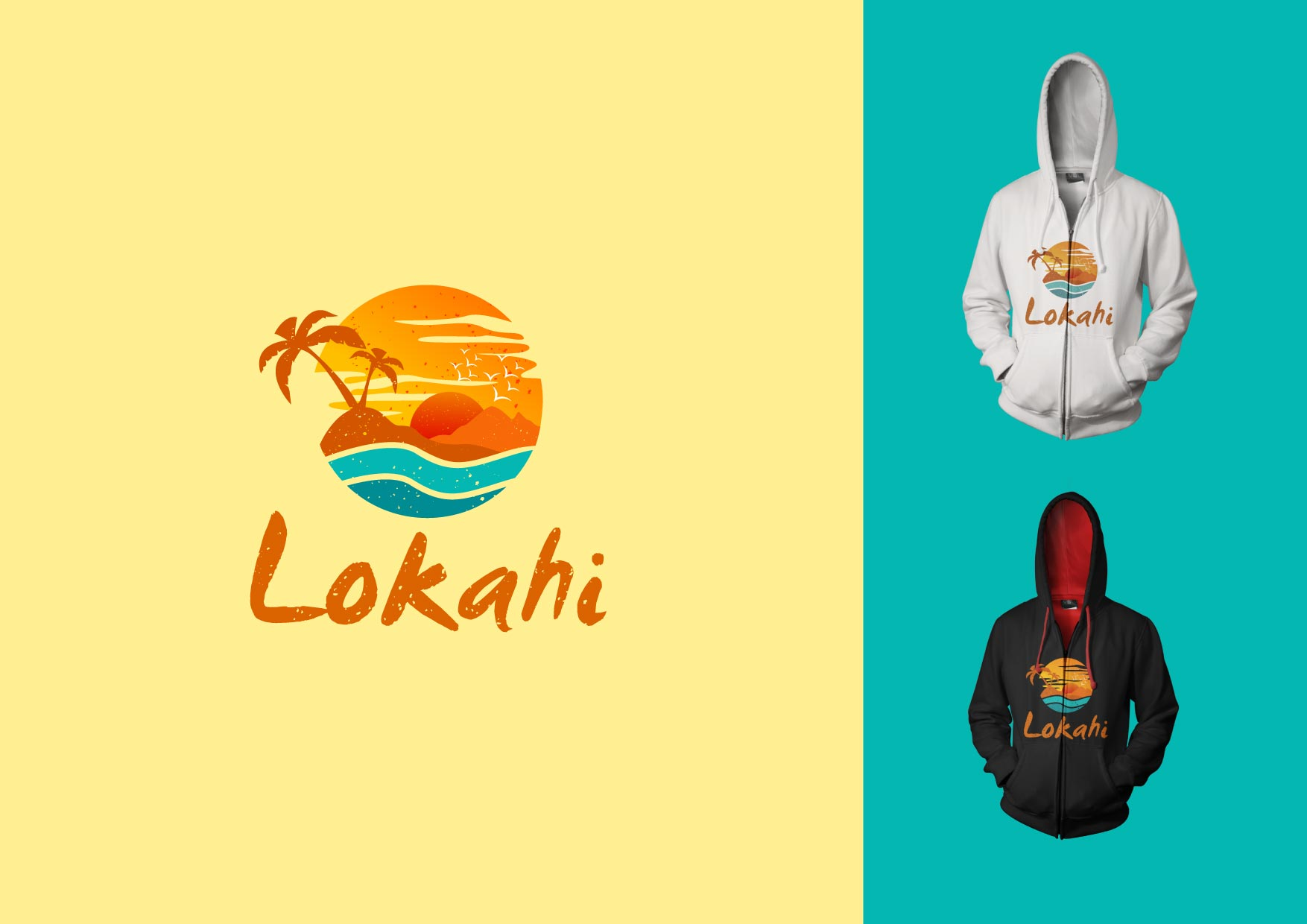 Logo Design by Osi Indra - Entry No. 60 in the Logo Design Contest  Epic Logo Design for LOKAHI designs.