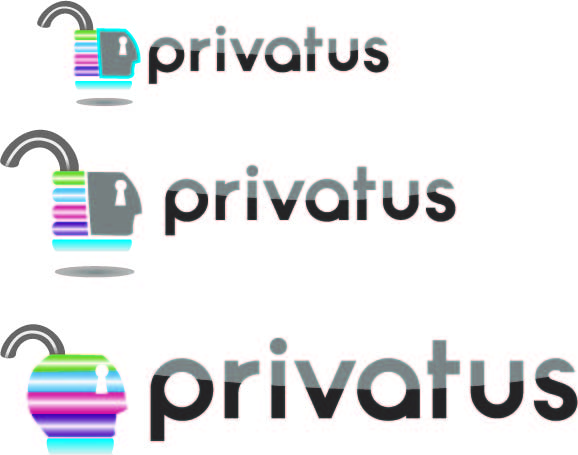 Logo Design by Jonathan Aclado - Entry No. 47 in the Logo Design Contest New Logo Design for privatus.