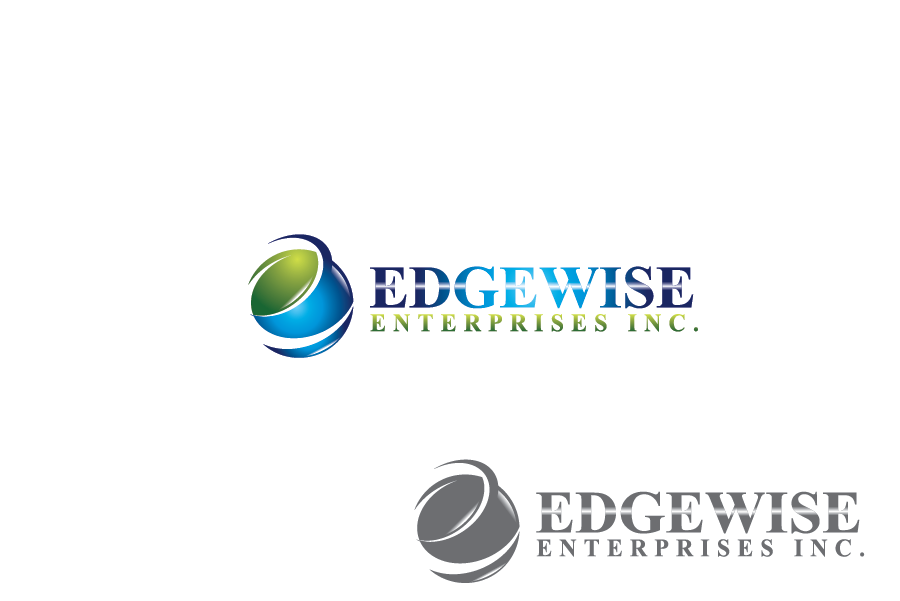 Logo Design by Private User - Entry No. 29 in the Logo Design Contest New Logo Design for Edgewise Enterprises Inc..