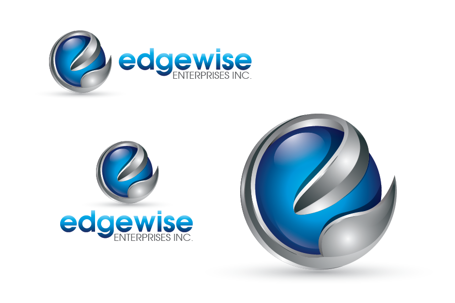 Logo Design by Private User - Entry No. 30 in the Logo Design Contest New Logo Design for Edgewise Enterprises Inc..