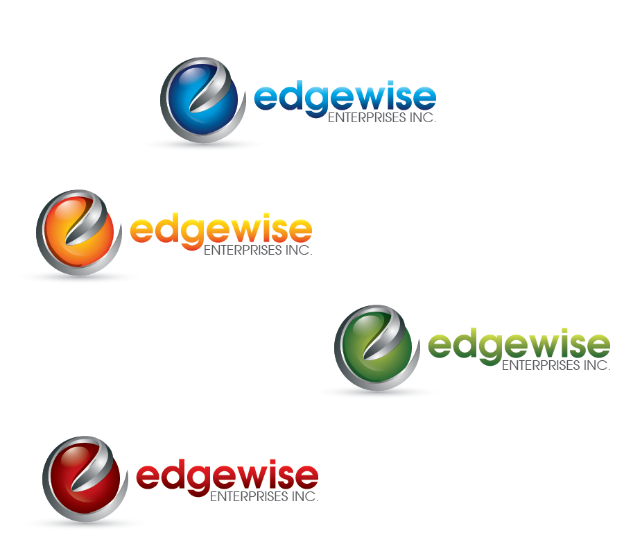 Logo Design by Private User - Entry No. 31 in the Logo Design Contest New Logo Design for Edgewise Enterprises Inc..