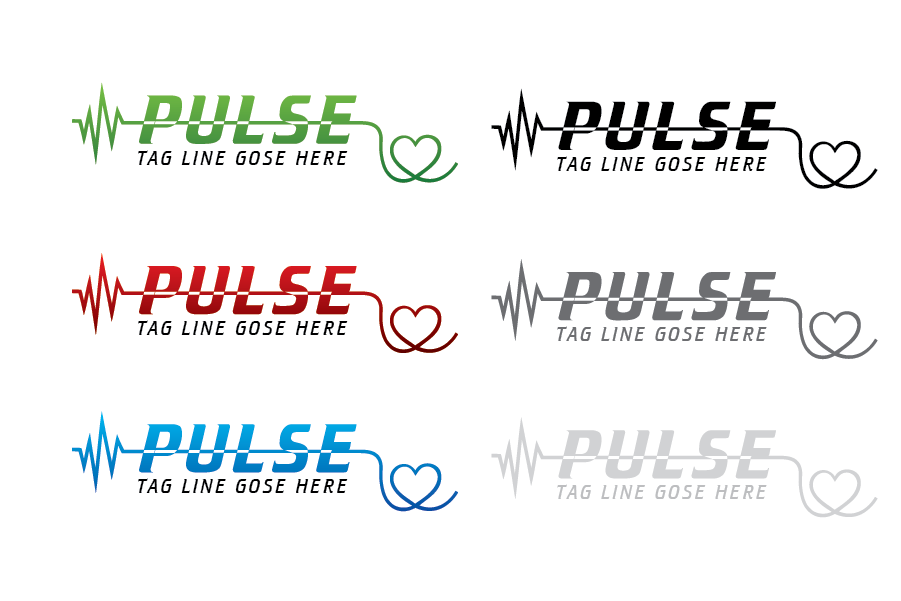 Logo Design by Private User - Entry No. 23 in the Logo Design Contest Captivating Logo Design for Pulse.