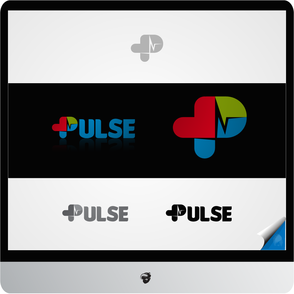 Logo Design by zesthar - Entry No. 25 in the Logo Design Contest Captivating Logo Design for Pulse.