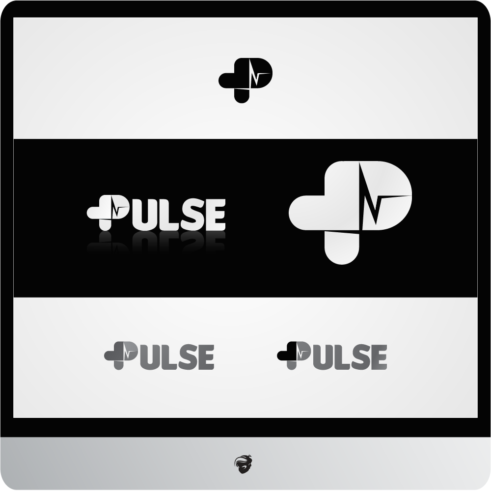 Logo Design by zesthar - Entry No. 26 in the Logo Design Contest Captivating Logo Design for Pulse.