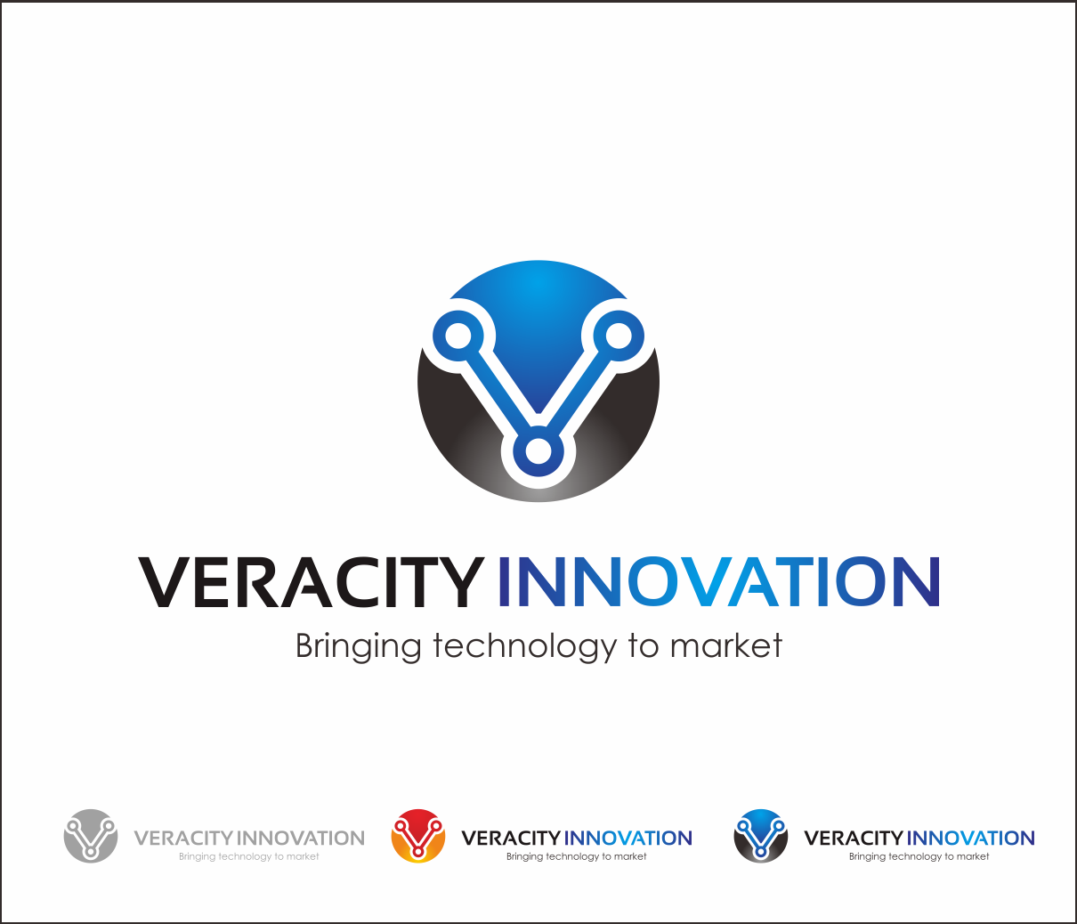 Logo Design by Armada Jamaluddin - Entry No. 280 in the Logo Design Contest Creative Logo Design for Veracity Innovation, LLC.