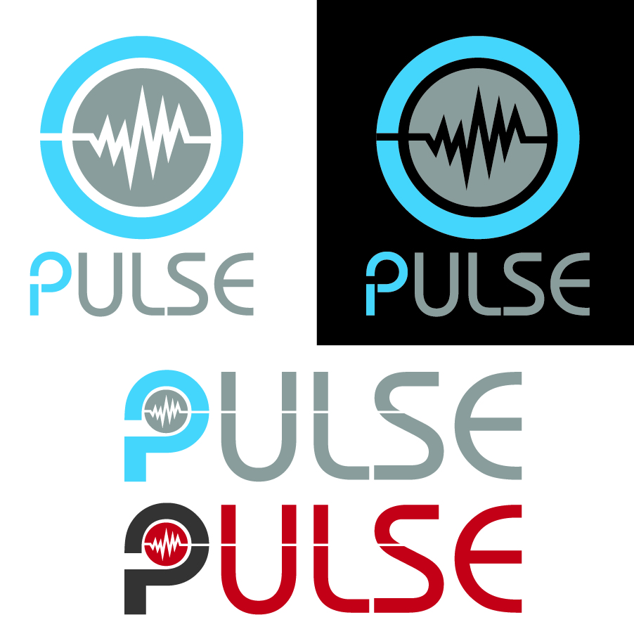 Logo Design by Faris Alsalahat - Entry No. 28 in the Logo Design Contest Captivating Logo Design for Pulse.