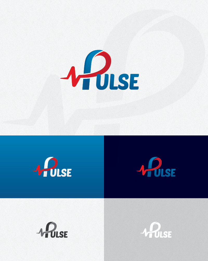 Logo Design by logotweek - Entry No. 29 in the Logo Design Contest Captivating Logo Design for Pulse.