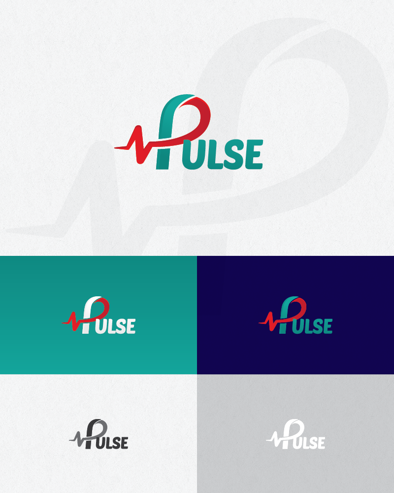 Logo Design by logotweek - Entry No. 30 in the Logo Design Contest Captivating Logo Design for Pulse.