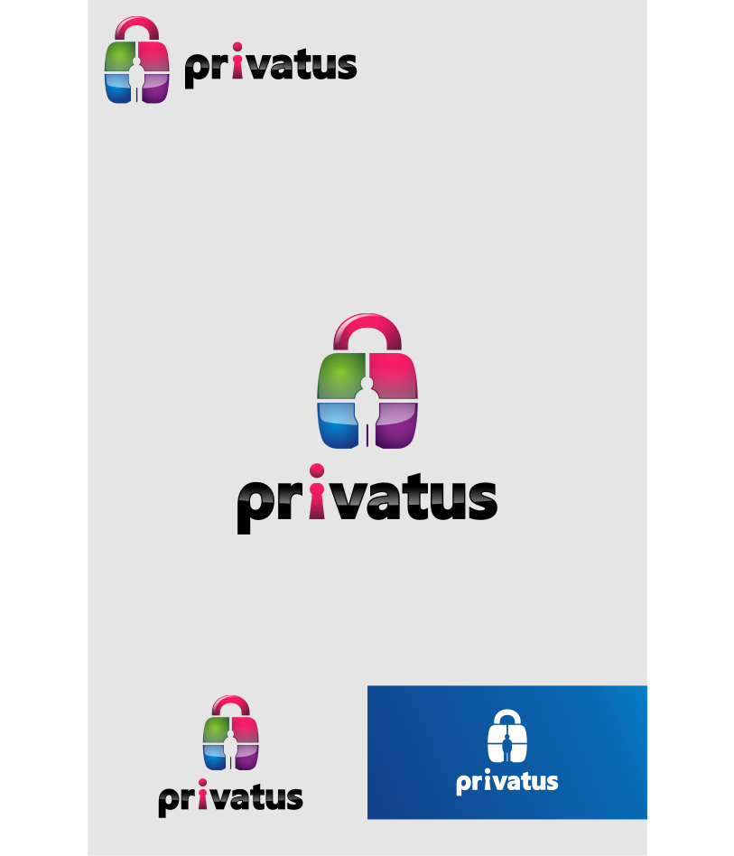 Logo Design by graphicleaf - Entry No. 57 in the Logo Design Contest New Logo Design for privatus.
