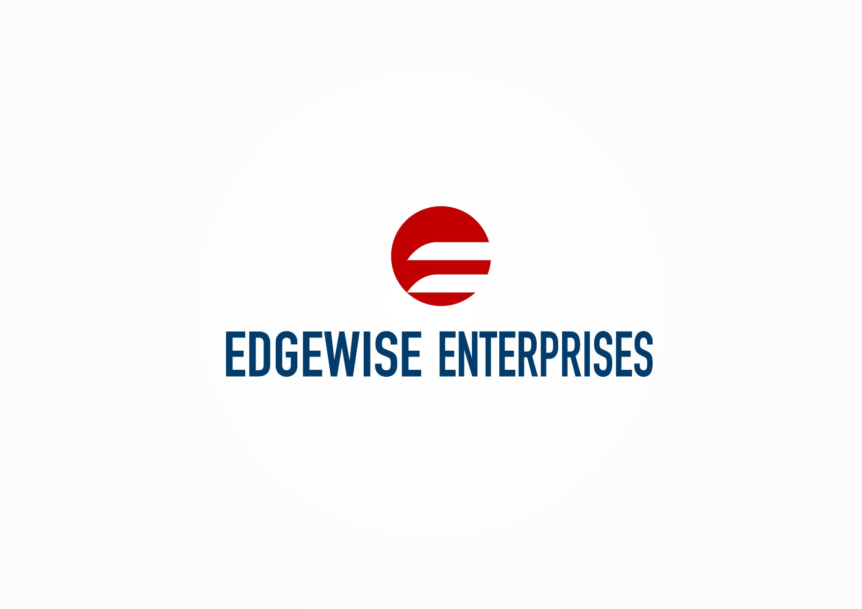 Logo Design by Osi Indra - Entry No. 34 in the Logo Design Contest New Logo Design for Edgewise Enterprises Inc..