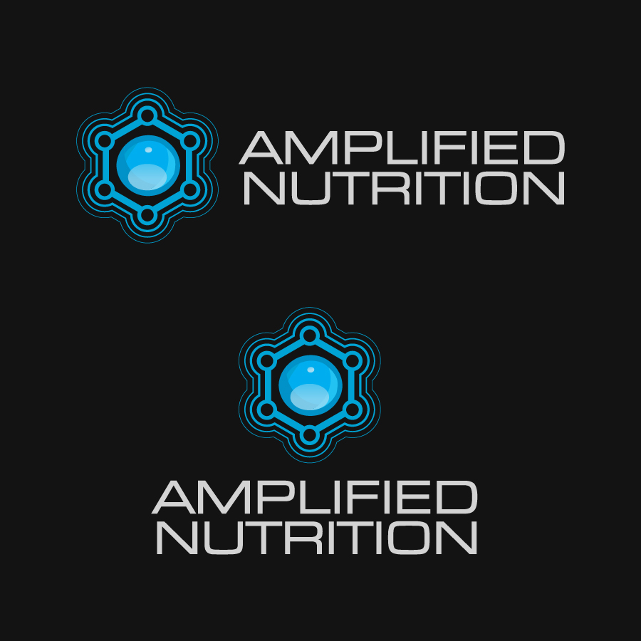 Logo Design by Alex-Alvarez - Entry No. 143 in the Logo Design Contest Amplified Nutrition.