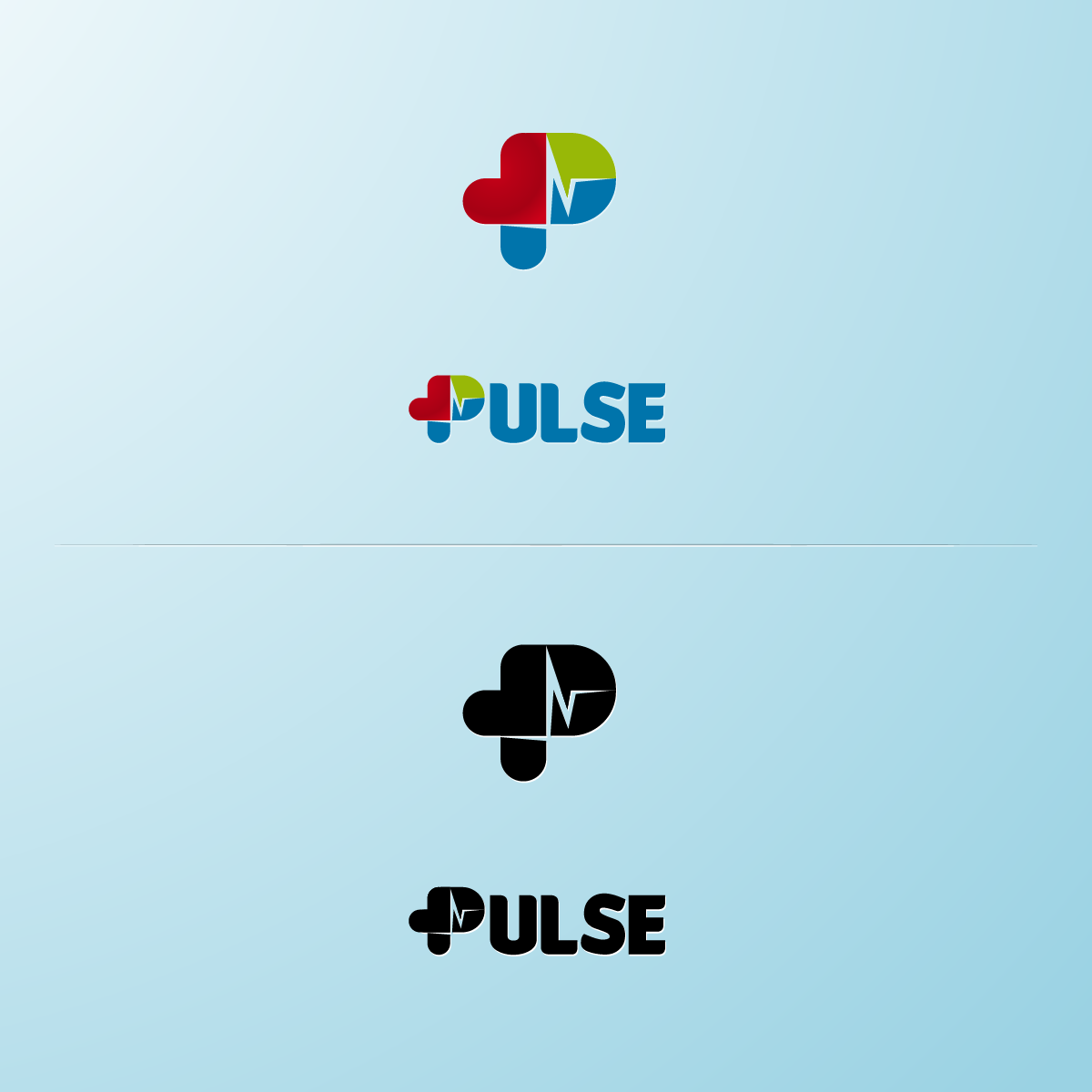 Logo Design by zesthar - Entry No. 36 in the Logo Design Contest Captivating Logo Design for Pulse.
