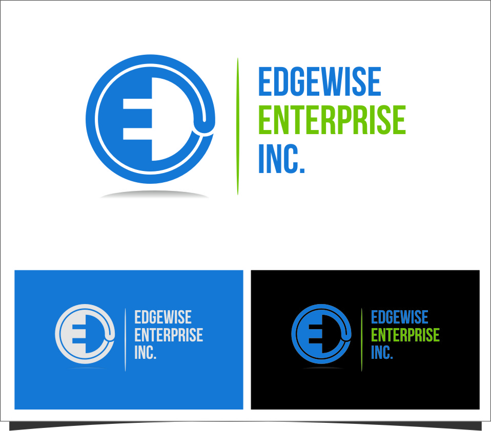 Logo Design by RasYa Muhammad Athaya - Entry No. 36 in the Logo Design Contest New Logo Design for Edgewise Enterprises Inc..