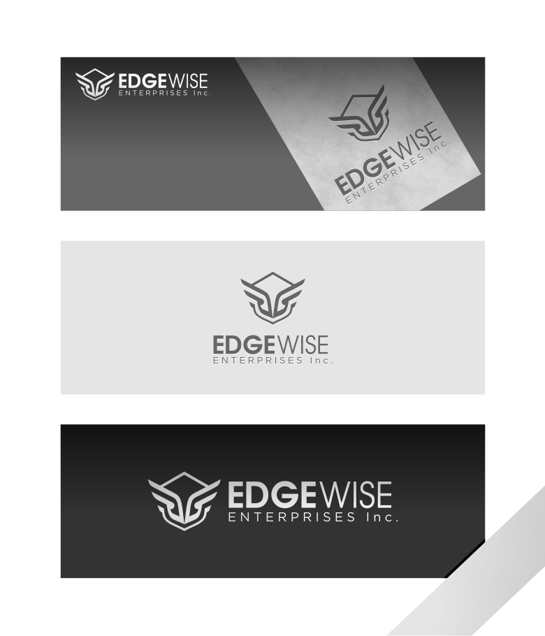 Logo Design by graphicleaf - Entry No. 37 in the Logo Design Contest New Logo Design for Edgewise Enterprises Inc..