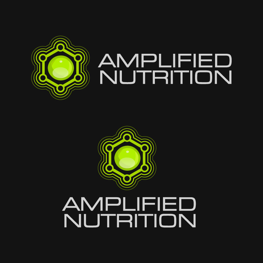 Logo Design by Alex-Alvarez - Entry No. 144 in the Logo Design Contest Amplified Nutrition.
