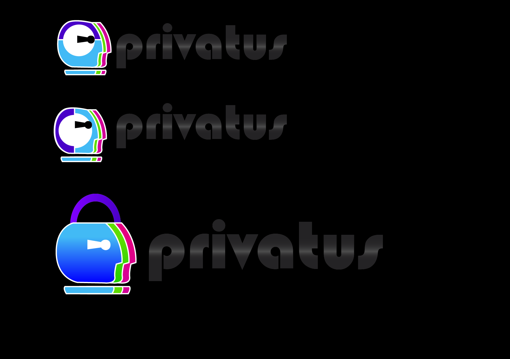 Logo Design by Jonathan Aclado - Entry No. 63 in the Logo Design Contest New Logo Design for privatus.