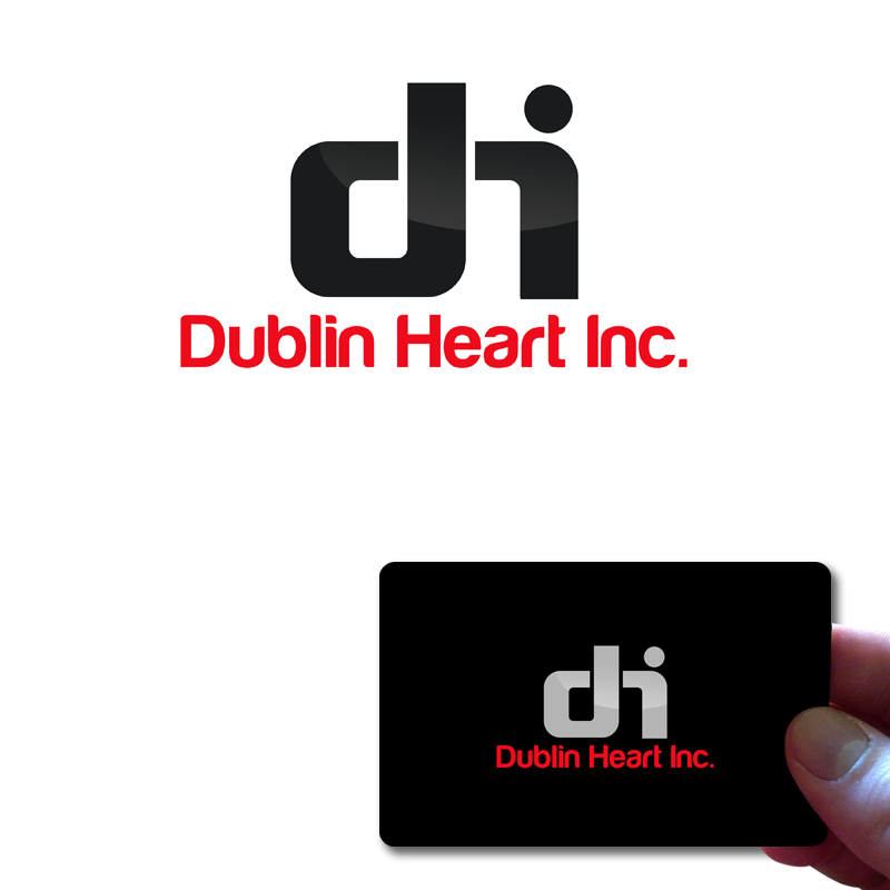 Logo Design by Private User - Entry No. 116 in the Logo Design Contest clean professional  Logo Design for Dublin Hearth Inc. with a splash of fun with letter head.