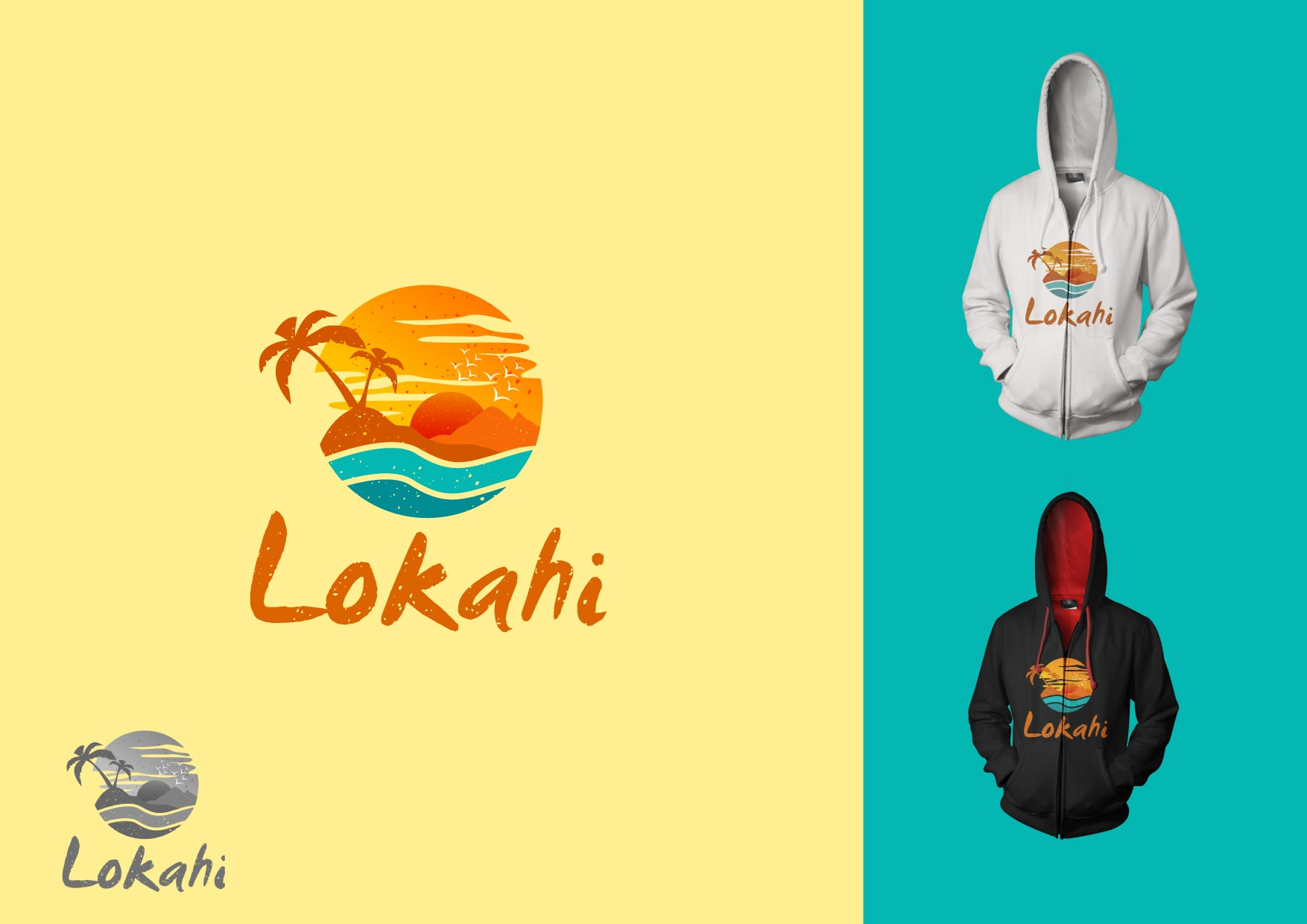 Logo Design by Osi Indra - Entry No. 67 in the Logo Design Contest  Epic Logo Design for LOKAHI designs.