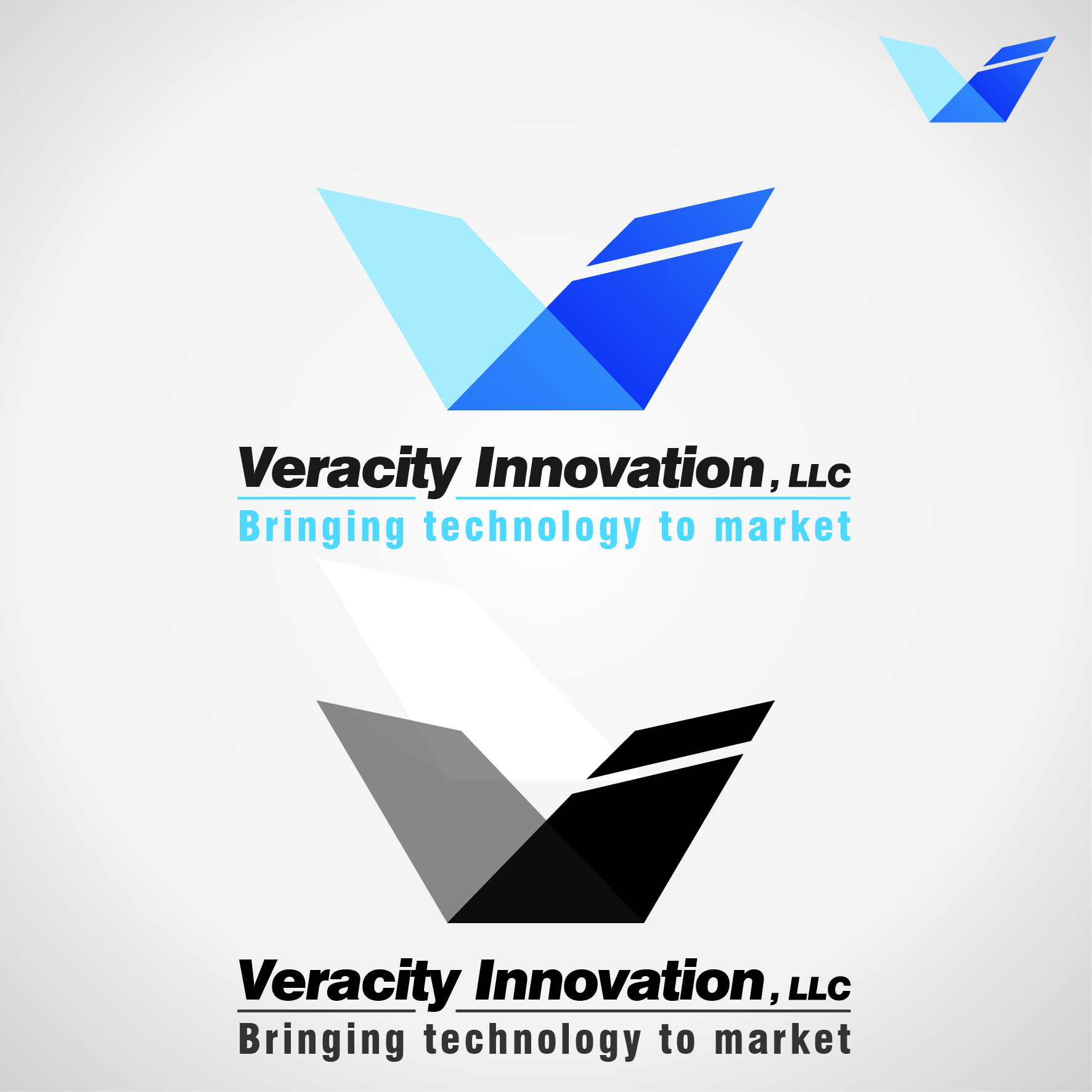 Logo Design by Faris Alsalahat - Entry No. 320 in the Logo Design Contest Creative Logo Design for Veracity Innovation, LLC.