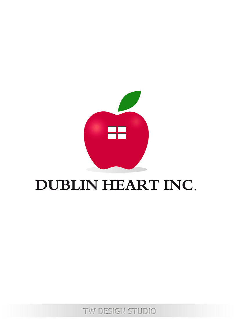 Logo Design by Private User - Entry No. 130 in the Logo Design Contest clean professional  Logo Design for Dublin Hearth Inc. with a splash of fun with letter head.