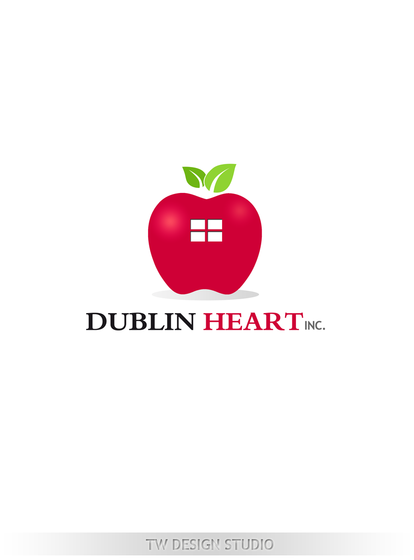 Logo Design by Private User - Entry No. 133 in the Logo Design Contest clean professional  Logo Design for Dublin Hearth Inc. with a splash of fun with letter head.