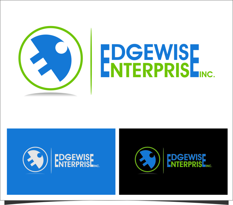 Logo Design by Ngepet_art - Entry No. 39 in the Logo Design Contest New Logo Design for Edgewise Enterprises Inc..