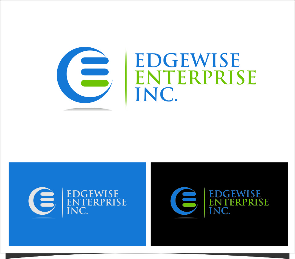 Logo Design by Ngepet_art - Entry No. 40 in the Logo Design Contest New Logo Design for Edgewise Enterprises Inc..