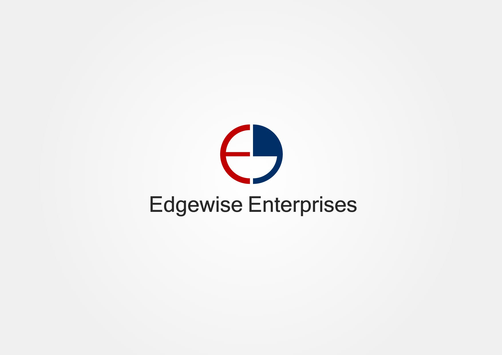 Logo Design by Osi Indra - Entry No. 41 in the Logo Design Contest New Logo Design for Edgewise Enterprises Inc..