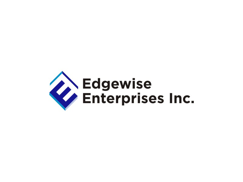 Logo Design by untung - Entry No. 43 in the Logo Design Contest New Logo Design for Edgewise Enterprises Inc..
