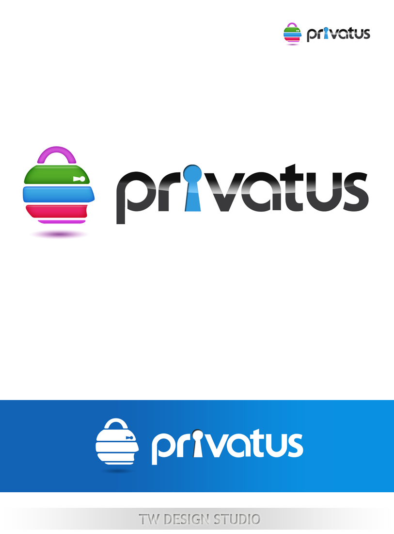 Logo Design by Private User - Entry No. 86 in the Logo Design Contest New Logo Design for privatus.