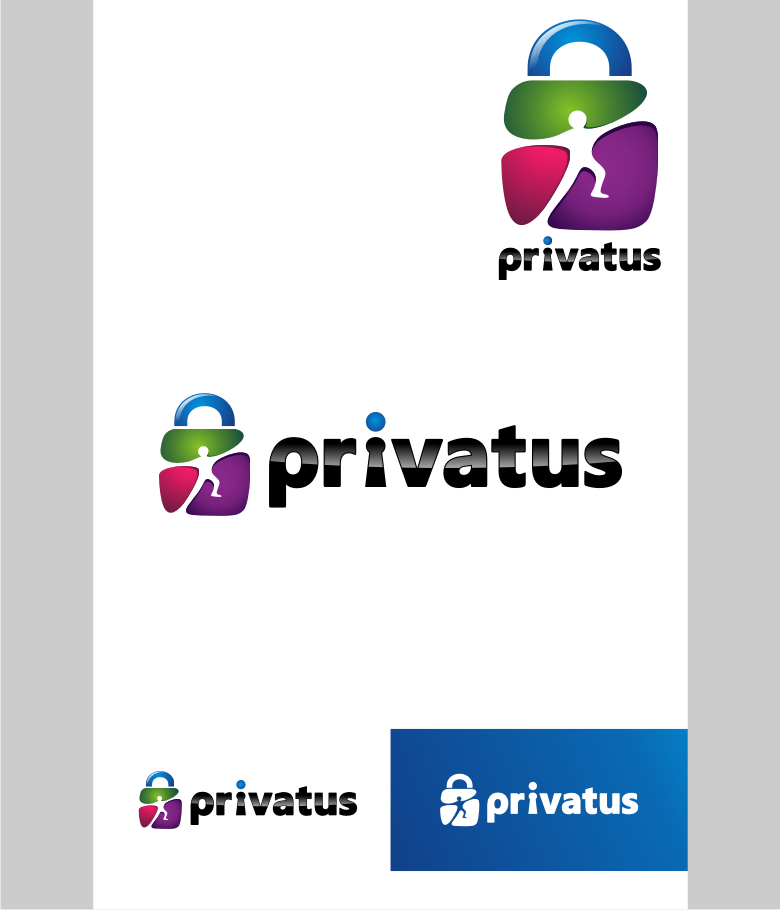 Logo Design by graphicleaf - Entry No. 89 in the Logo Design Contest New Logo Design for privatus.