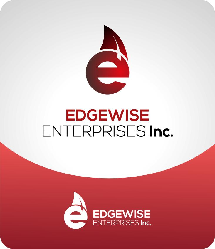 Logo Design by luvrenz - Entry No. 47 in the Logo Design Contest New Logo Design for Edgewise Enterprises Inc..