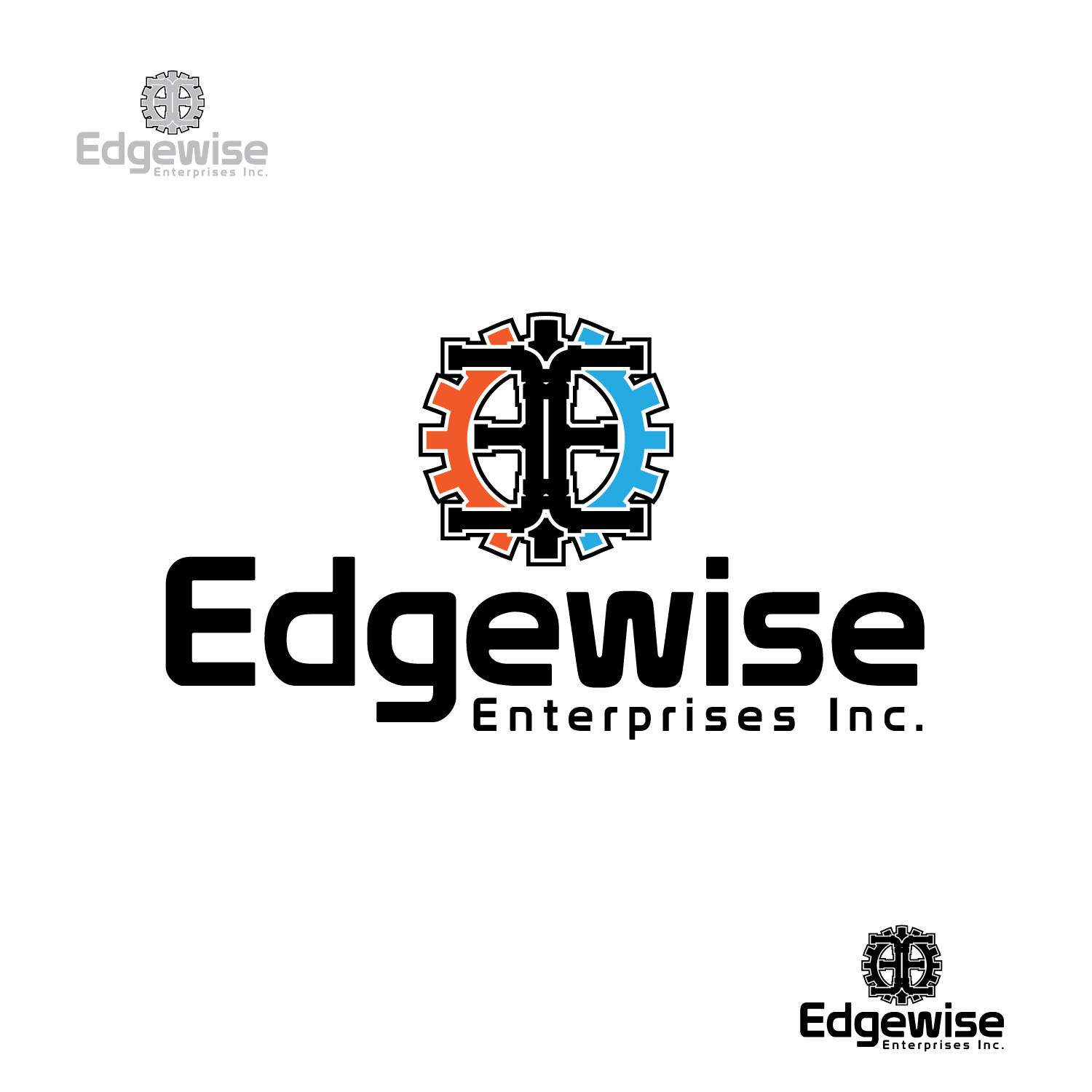 Logo Design by lagalag - Entry No. 48 in the Logo Design Contest New Logo Design for Edgewise Enterprises Inc..