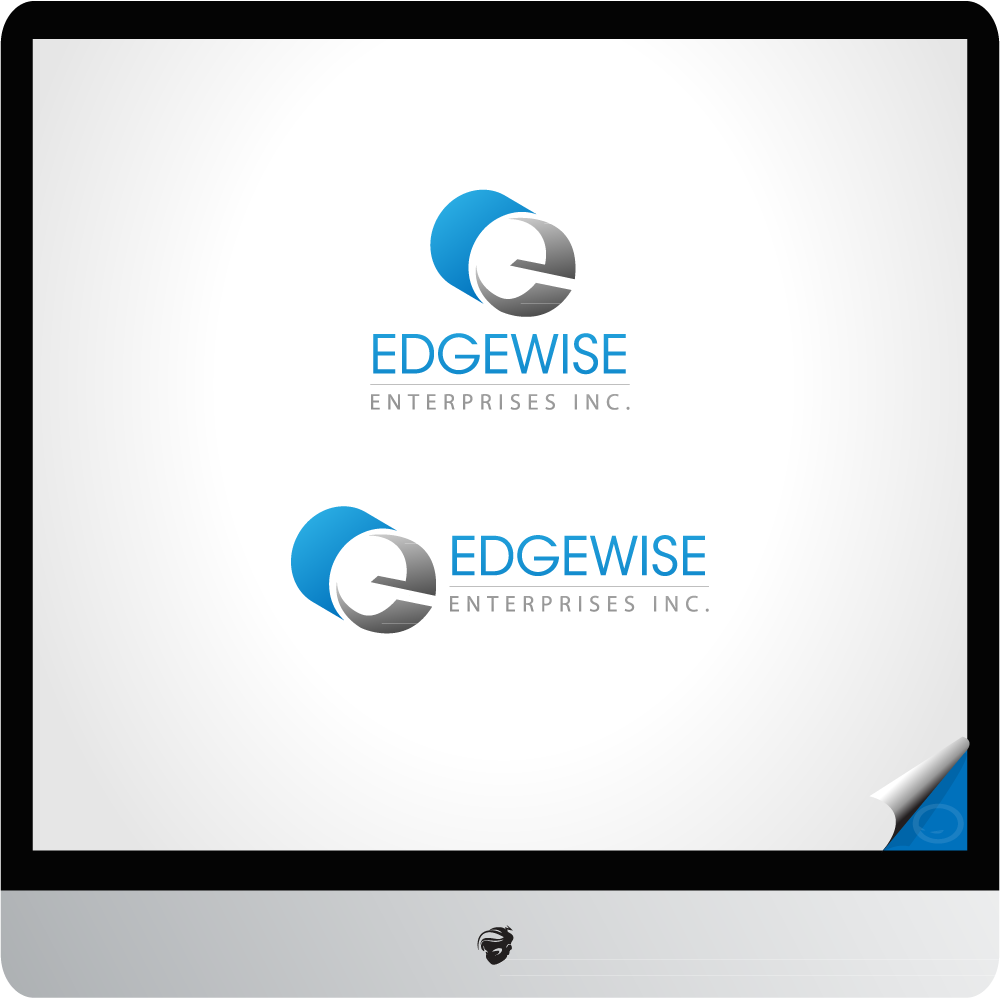 Logo Design by zesthar - Entry No. 50 in the Logo Design Contest New Logo Design for Edgewise Enterprises Inc..
