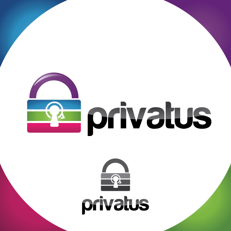Logo Design by Iskander Dino - Entry No. 109 in the Logo Design Contest New Logo Design for privatus.