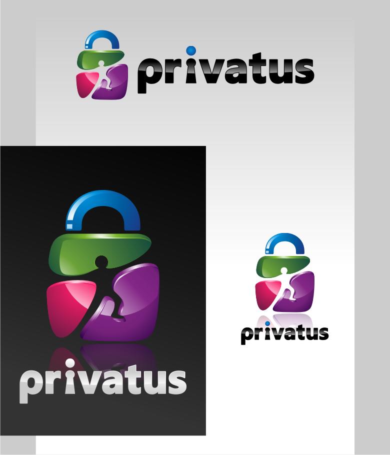 Logo Design by Muhammad Nasrul chasib - Entry No. 111 in the Logo Design Contest New Logo Design for privatus.